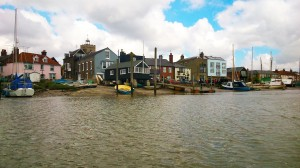 Wivenhoe from the Colne