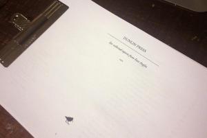 Est manuscript