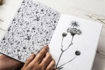 The Orphaned Spaces: Hand-stitched journal